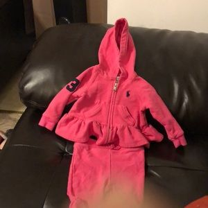 Polo Ralph Lauren  sweat suit